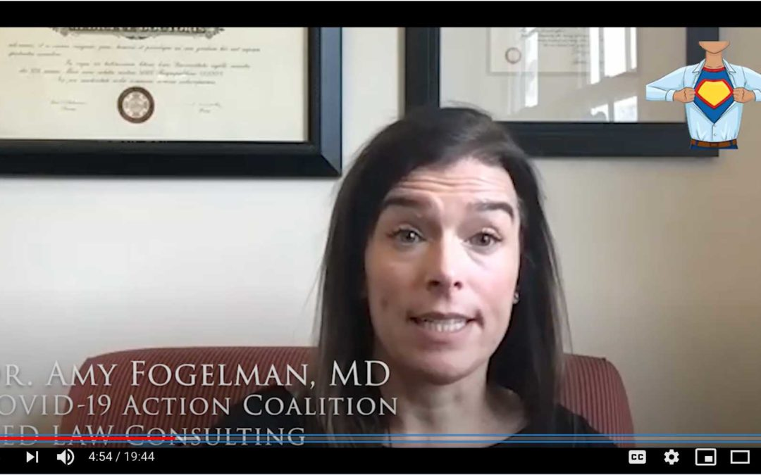 Interview: Dr Amy Fogelman of COVID-19 Action Coalition (COVAC-MA)
